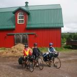 La grange où nous avons dormi