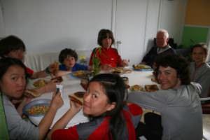 Au souper chez Marie-Ève et Sandra